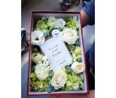 Hoa hộp đẹp mã:DH50
