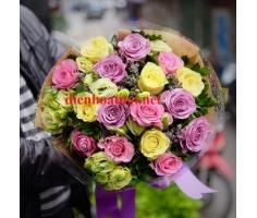 Bó hoa hồng đẹp mã DH25