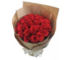 Bó hoa hồng đỏ thắm - DH01