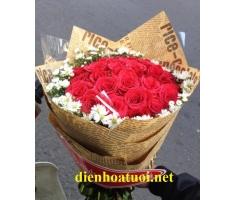 Hoa bó tròn đẹp - DH241