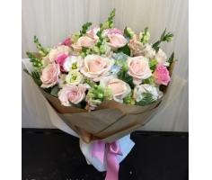 Hoa bó tròn đẹp - DH354