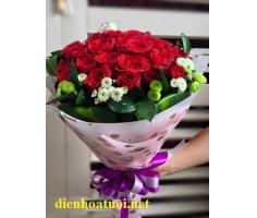 Bó hồng tươi thắm - DH519